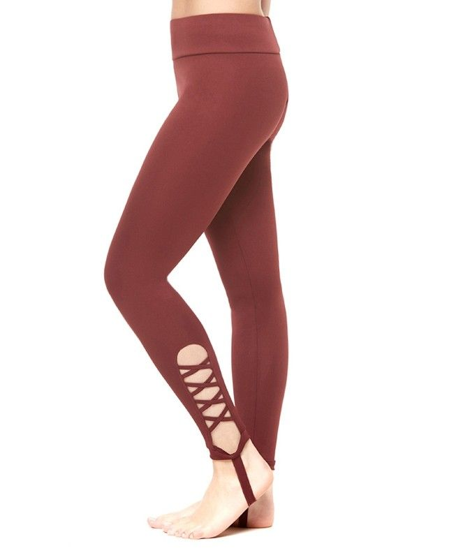 South Beach Cutout Stirrup Leggings (S Only)