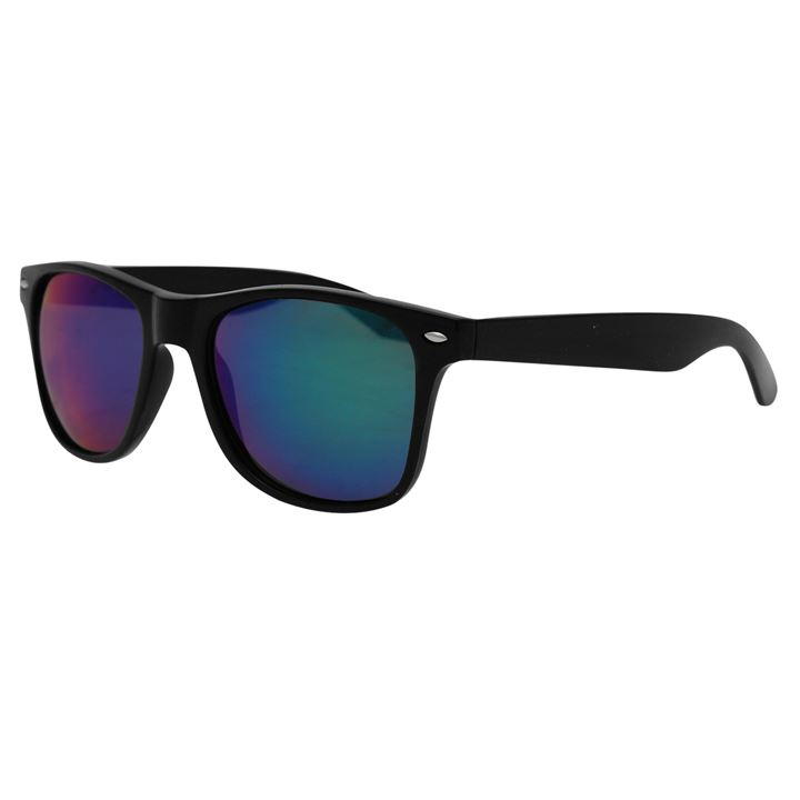 Black Iridescent Wayfarer Sunglasses