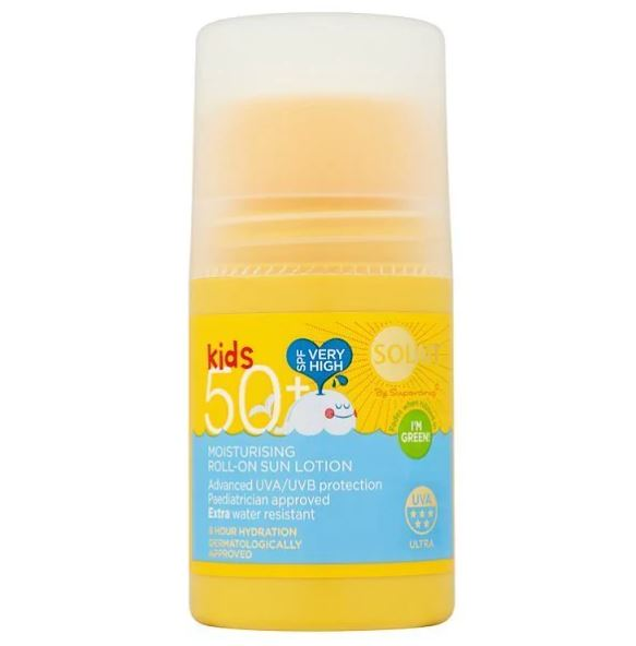 Solait Kids Roll On SPF50+ 75ml