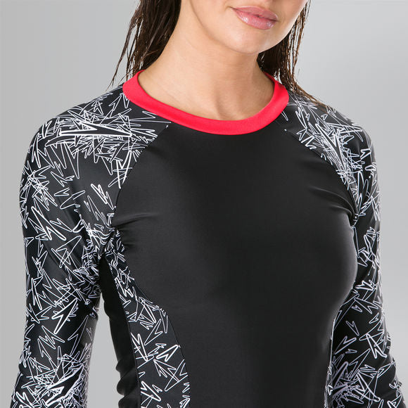 Speedo Boom Allover Rashguard Top