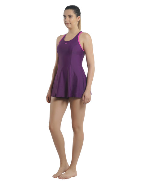Speedo Racerback Swimdress (with Boyleg) (Size 28, 34 & 38 Only)