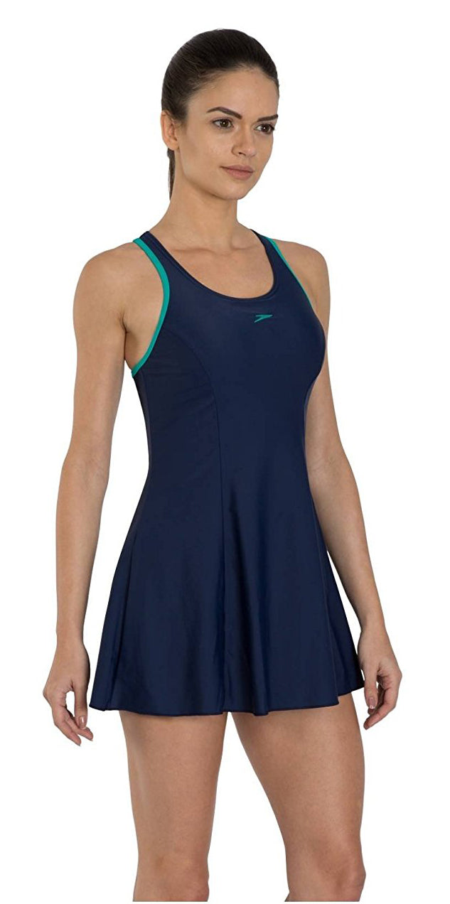 Speedo Racerback Swimdress (with Boyleg) (42 Only)