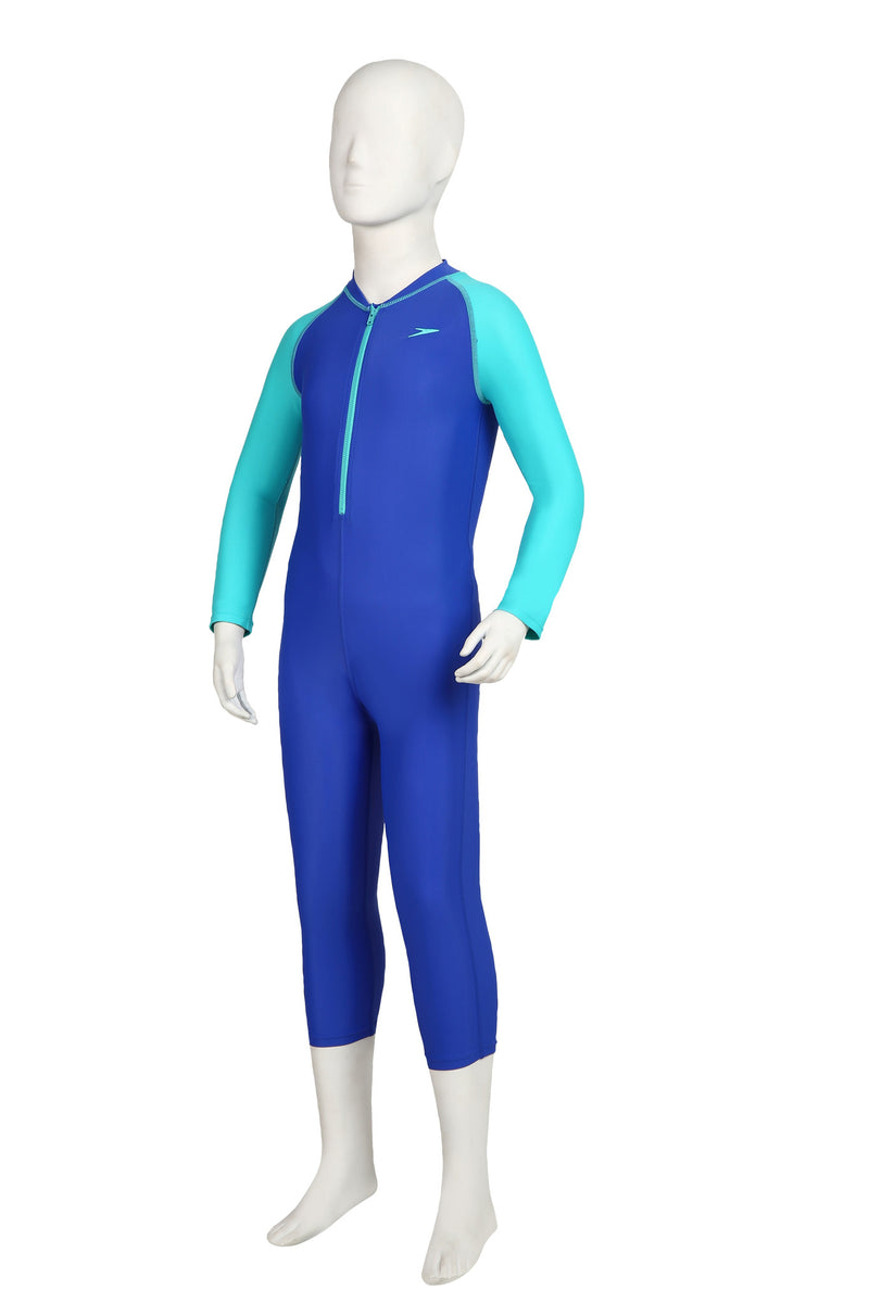 Speedo Color Block LS All-in-1 Suit
