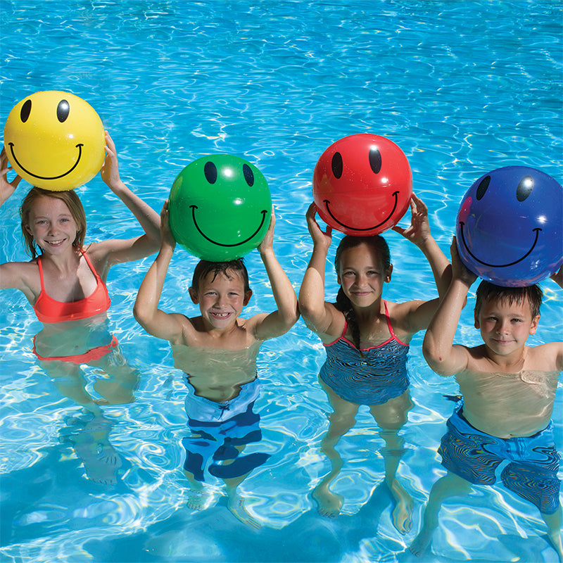 "16"" Smile Play Ball – 4 Pack"