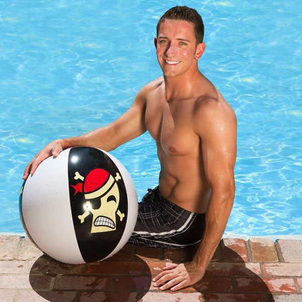 Pirate Pool Ball 24""