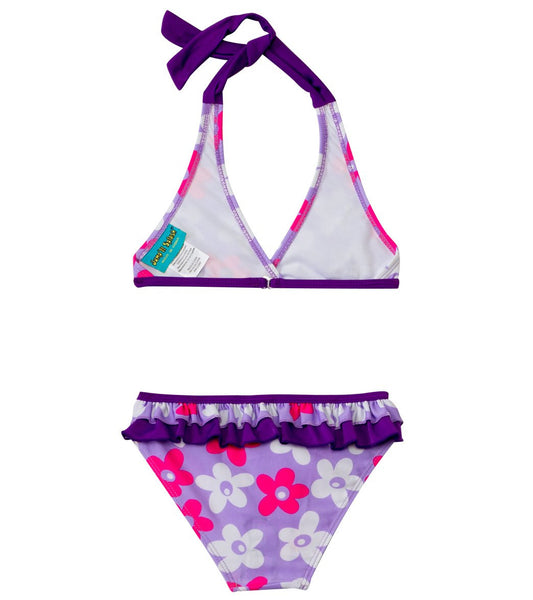 Daisies Bikini Set w/FREE Arm Band Floaties