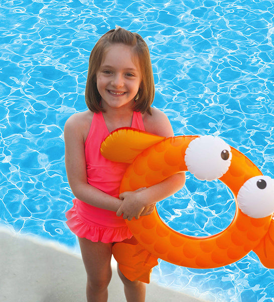 Finley Fish Tube - Orange