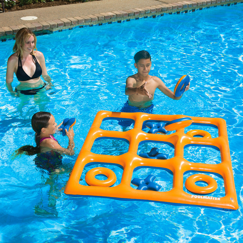 Tic Tac Toe Pool Game