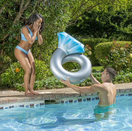 "Inflatable 35"" Diamond Split Ring"