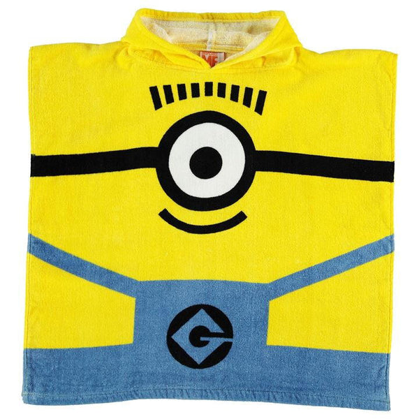 Minions Towel Poncho Infant