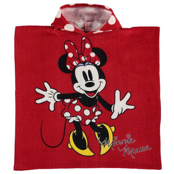 Minnie Mouse Towel Poncho Infant
