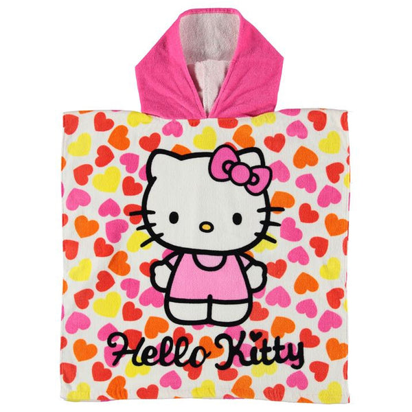 Hello Kitty Towel Poncho Infant