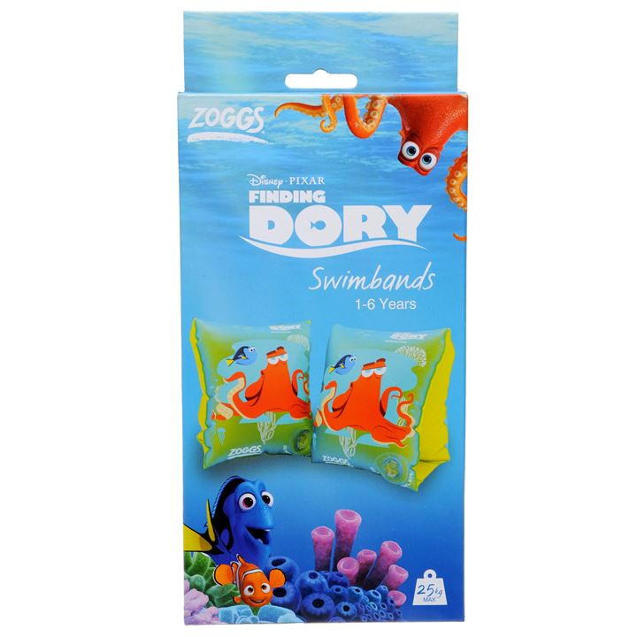 Zoggs Finding Dory Armbands (1-6 years)