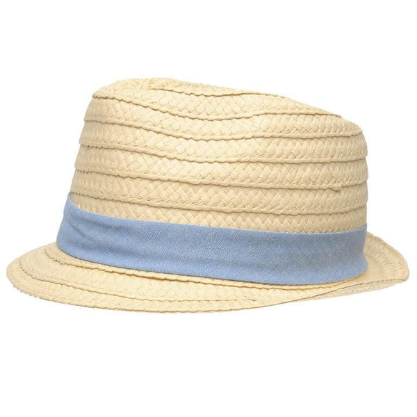 Chambray Trilby Hat for Boys