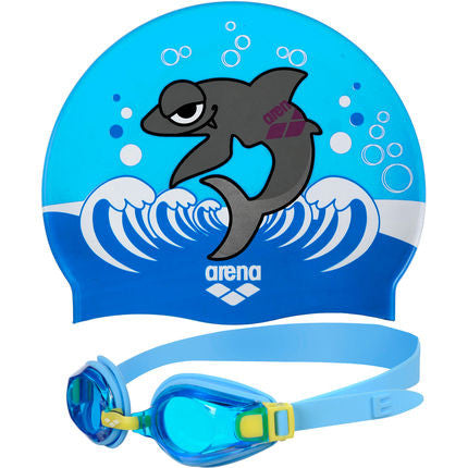 Arena Swim Set - Martinica Blue Kids