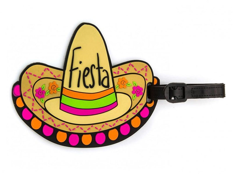 Fiesta Hat Luggage Tags (Pack Of 2)