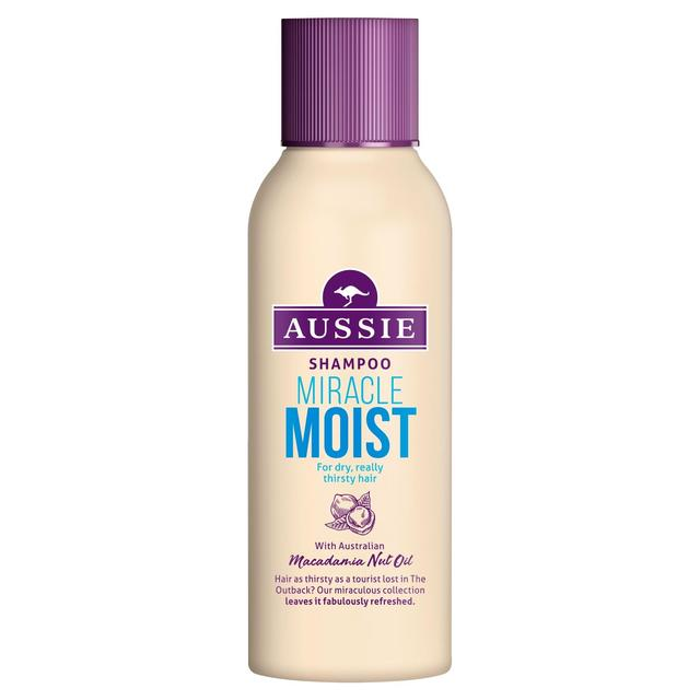 Aussie Miracle Moist Travel Shampoo 90ml