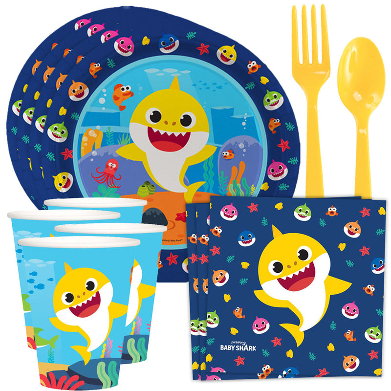 Baby Shark Party Table Kit (Serves 8)