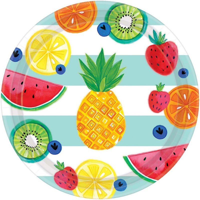 Hello Summer Party Plates (Set of 8)
