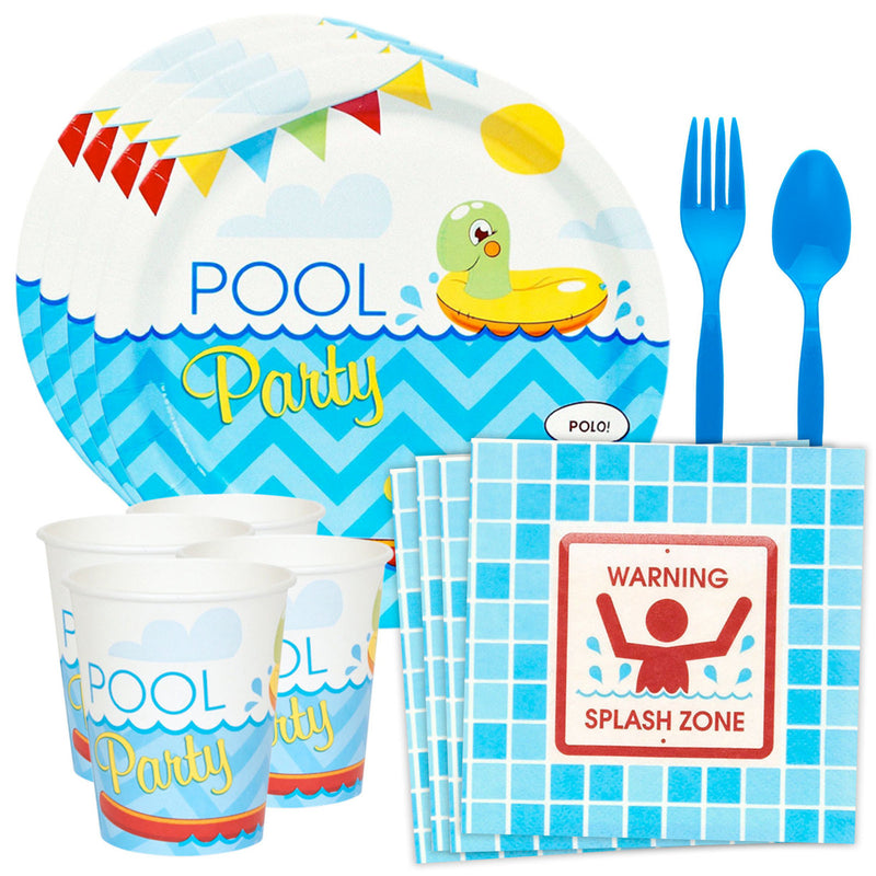Pool Party Party Table Kit (Serves 8)