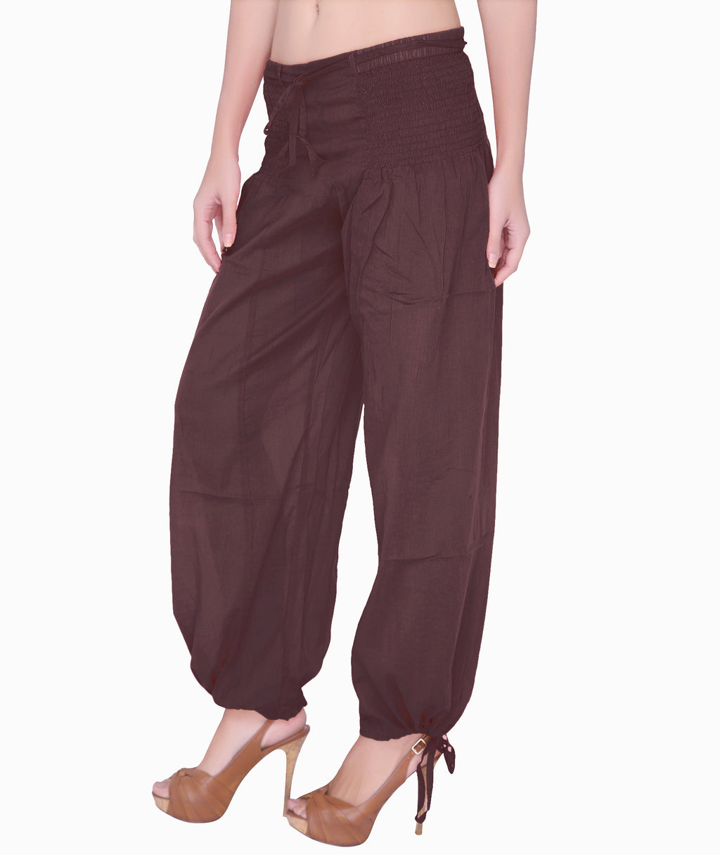 Harem Pants - Brown (Only S)
