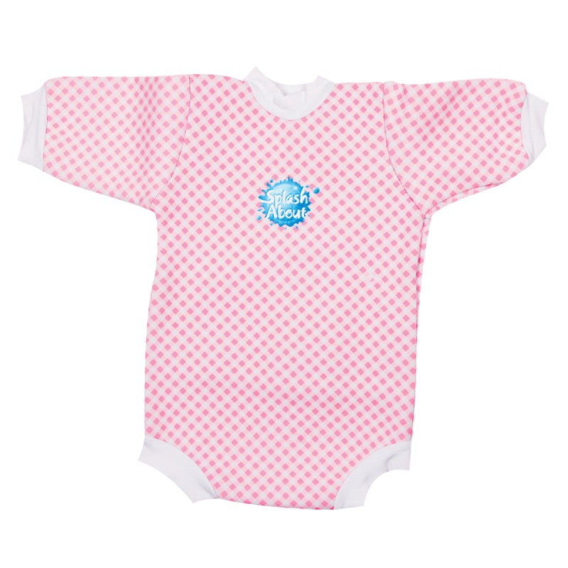 Happy Nappy™ Wetsuit Pink Gingham