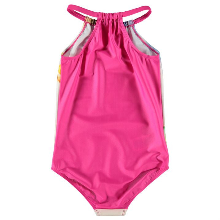 Barbie High Neck Swimsuit (1-5yrs Only)