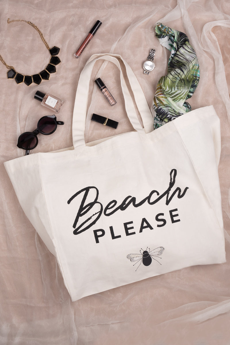 The Beach Please Tote Bag