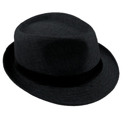 Fedora Beach Hat - Black