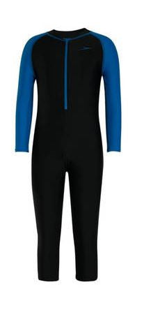 Speedo Color Block LS All-in-1 Suit (Size 4yrs Only)
