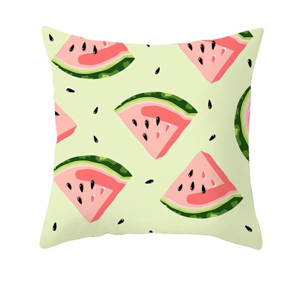 Watermelon Slice Cushion Covers - Set of 2