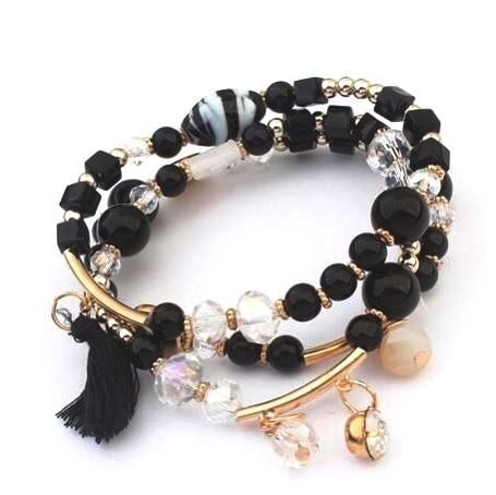 Bohemian Multilayer Beads Bracelet (Set of 3)
