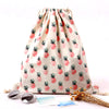 Pineapple Canvas Back Pack Set Of 3