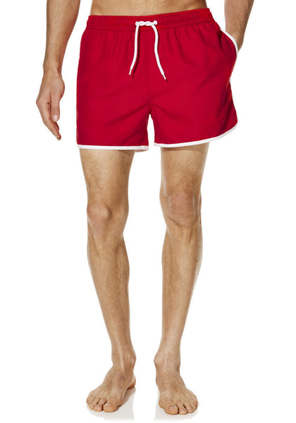 Contrast Trim Swim Shorts (Size Small Only)