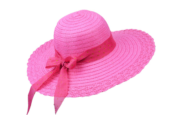Bowknot Floppy Beach Hat