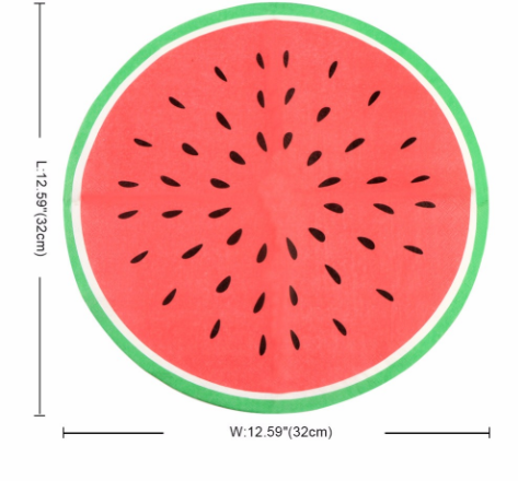Watermelon Paper Tissue (Pack of 20)