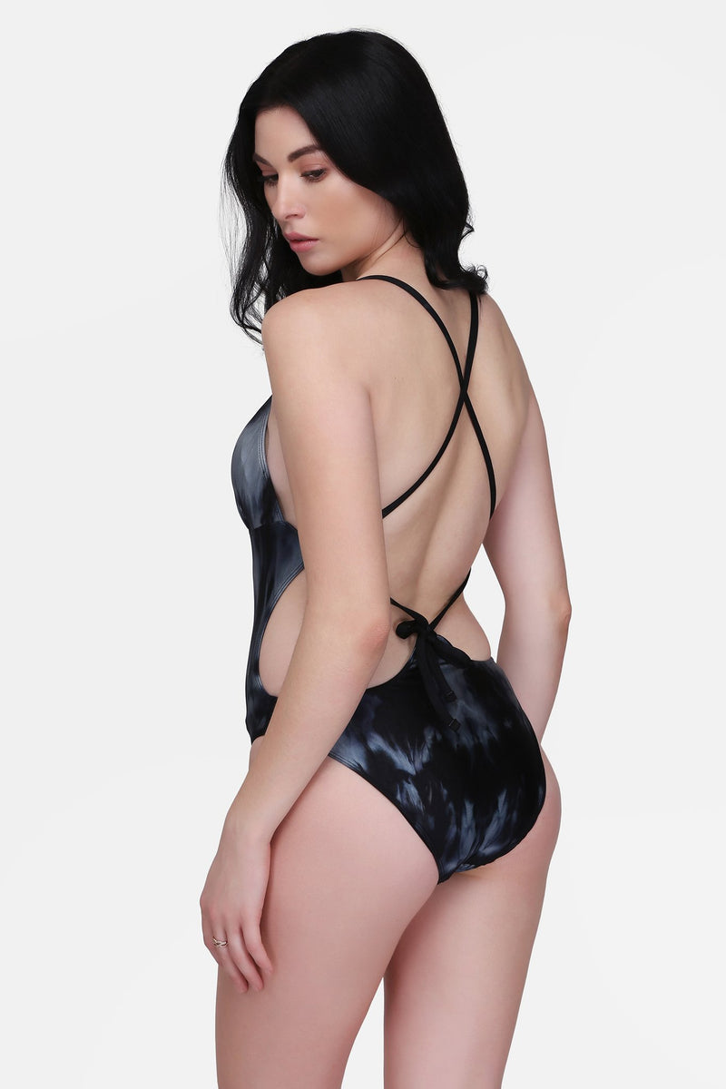 Echo One Piece Reversible Swimsuit