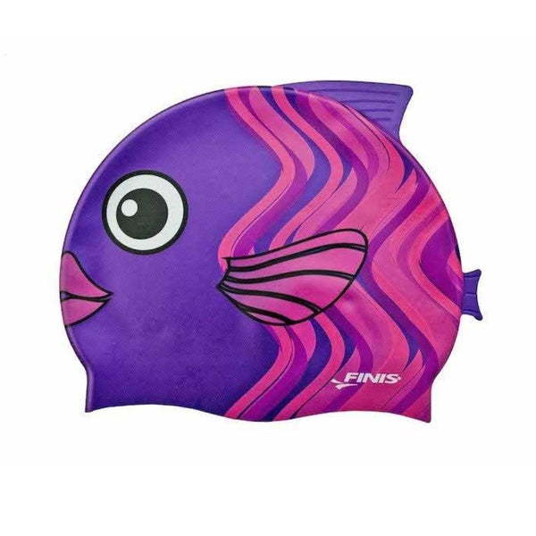 Kids Swim Cap - Coral Fish
