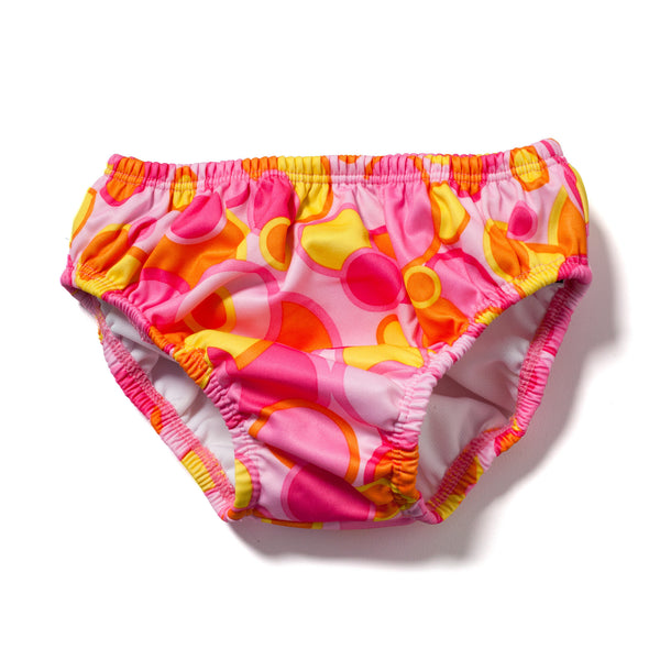 Swim Diaper Pink Bubble