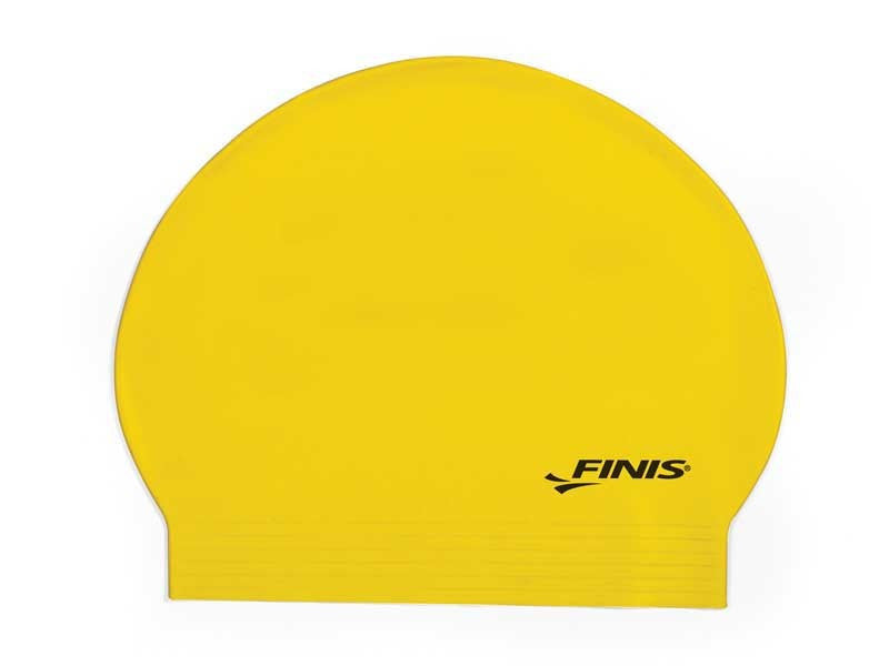 Latex Swim Cap Yellow