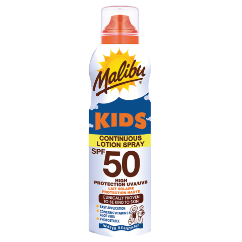 Lotion Spray SPF50 Kids Aerosol 175ml