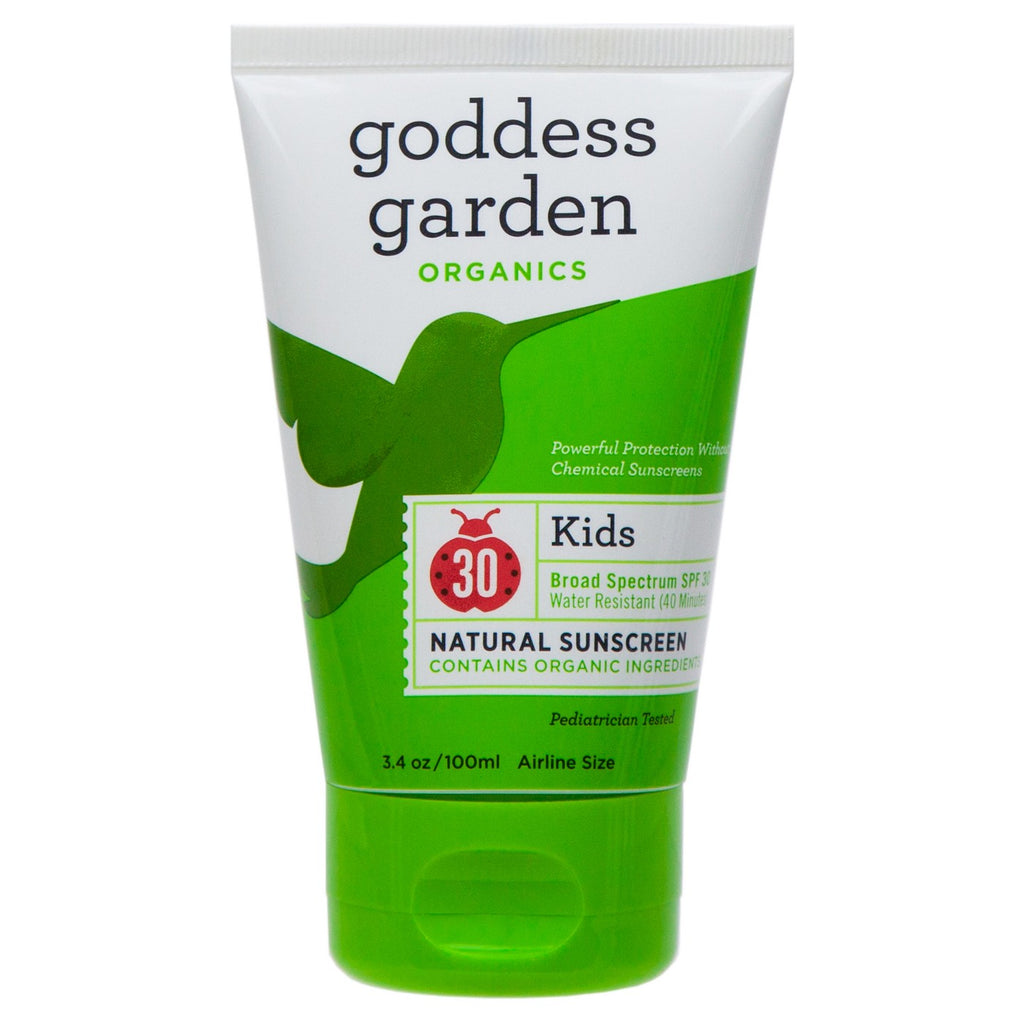 Goddess Garden Kid's Natural Sunscreen Tube SPF 30
