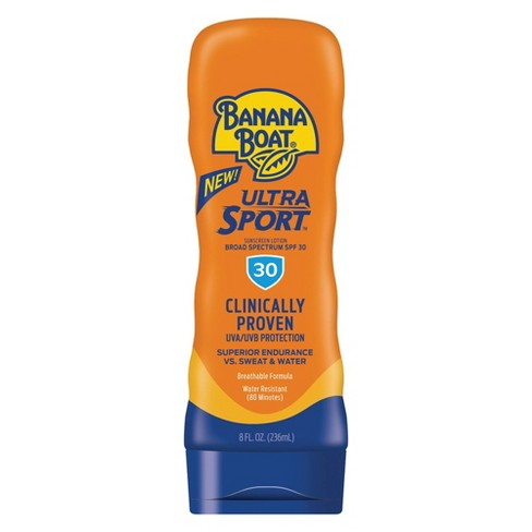 Banana Boat Ultra Sport Sunscreen Lotion SPF 30 (235ml)