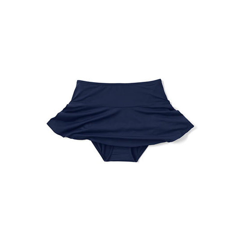 Navy Frill Swim Skirt