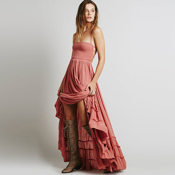 Strappy Back Beach Maxi