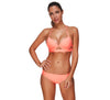 Underwired Tangerine Bikini Set