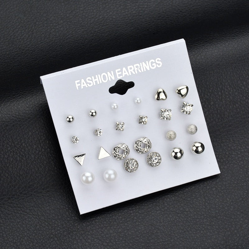 Exquisite Design Earrings (12 pairs)