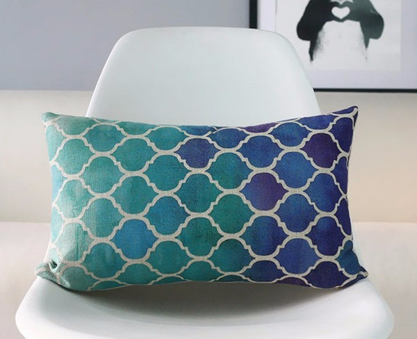 Nautical Ombre Pillow Covers (Set Of 2)