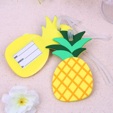 Pineapple Luggage Tags ( Pack Of 2 )
