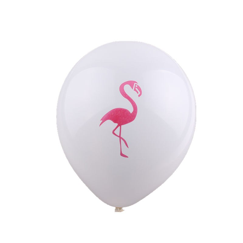 Flamingo Latex Inflatable Balloons (Pack of 10)